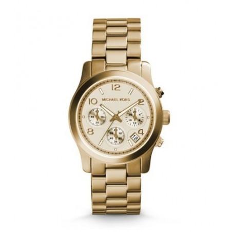 Michael Kors Runway Bracelet watch Female Gold