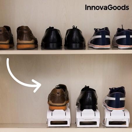 InnovaGoods apavu plauktu regulējamas apavu slotas (6 pāri)