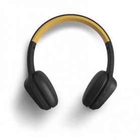Energy Sistem 429325 headphones headset Head-band 3.5 mm connector Bluetooth Black, Yellow