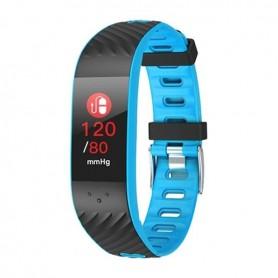 "Brigmton BSPORT-16 OLED Wristband activity tracker 2.44 cm (0.96"") IP67 Black, Blue"
