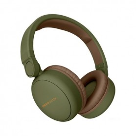 Energy Sistem 445615 headphones/headset Head-band 3.5 mm connector Micro-USB Bluetooth Brown, Green
