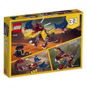 Playset Creator uguns pūķis Lego 31102